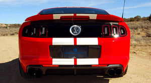 Anderson Composite 2013-2014 Mustang / Shelby GT500 / BOSS 302 Carbon Fiber License Plate Panel
