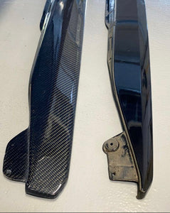 Competition Carbon XL Side Skirt Rocker Extensions - Corvette C7 Z06 / Grand Sport