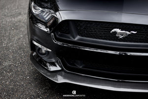 Anderson Composite 2015-2017 Mustang Carbon Fiber Type-AC Front Chin Splitter