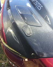 Anderson Composites 2015-2017 Mustang Double Sided Carbon Fiber Cowl Hood