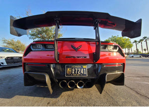 Competition Carbon C7R Diffuser Add On- 2 pieces