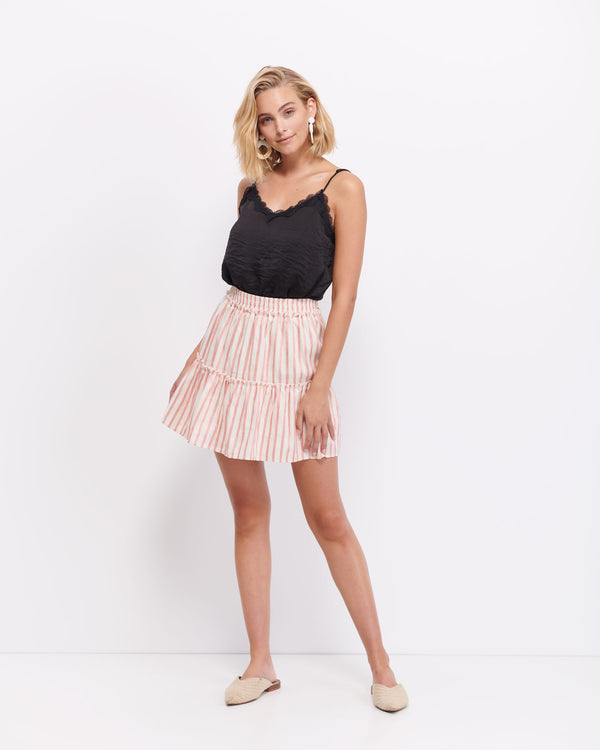 Isla Stripe Skirt
