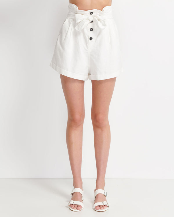 Holly Linen Cotton Short