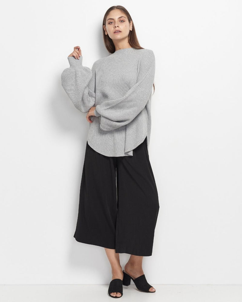Shayna High Neck Knit