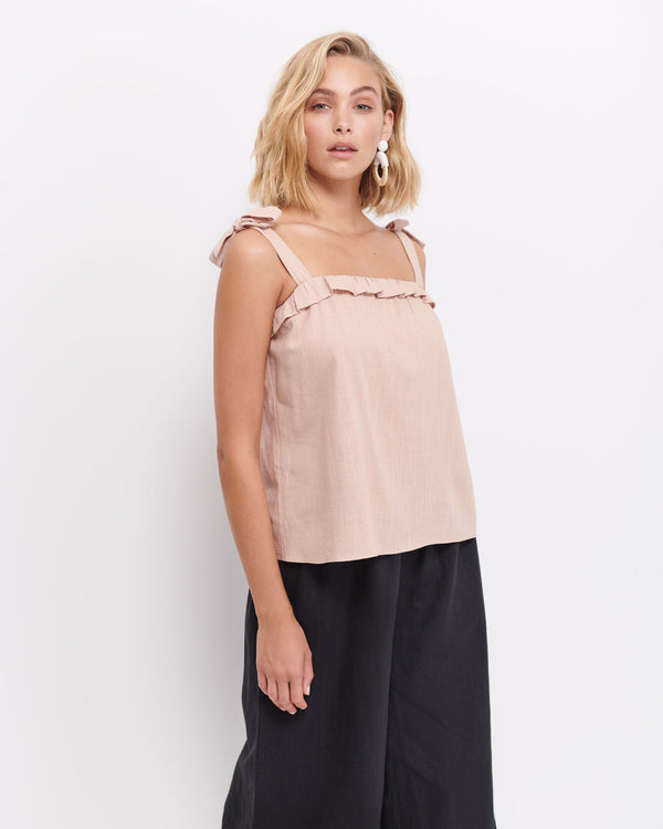 Hazel Frill Tie Up Camisole