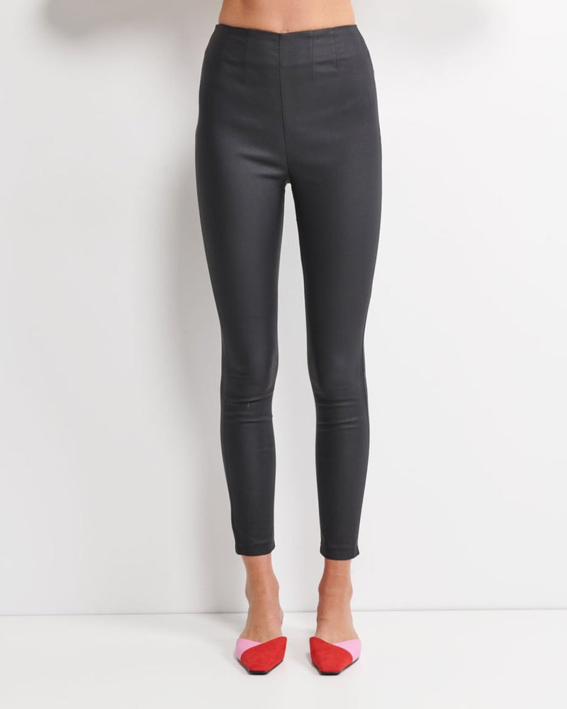 Dangerous To You Coated Pant (Black)
