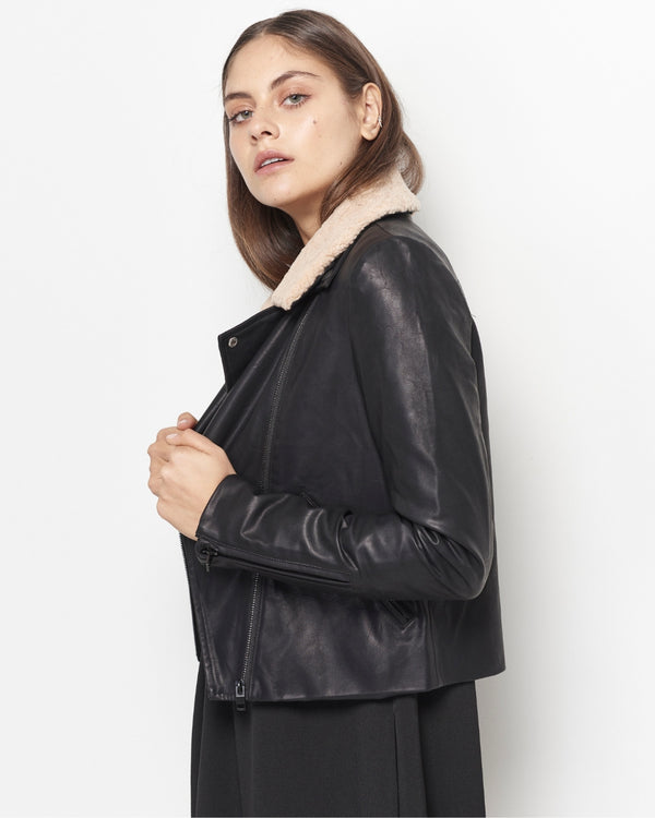 Stevie Vegan Leather Jacket