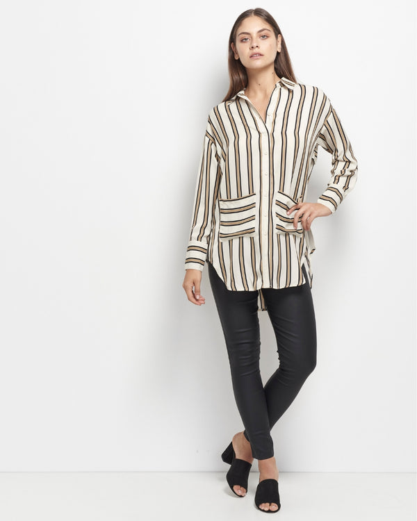 Adela Stripe Shirt