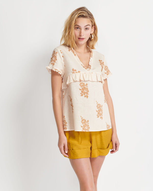 Orla Floral Top