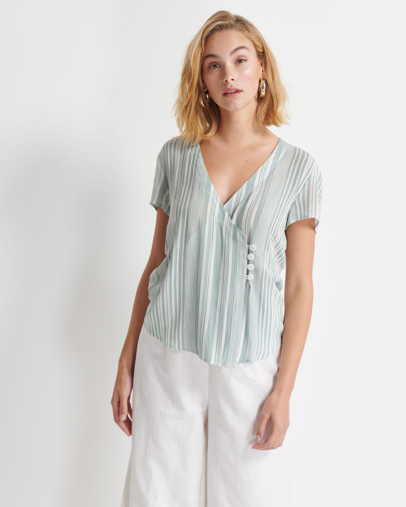 Ray Stripe Top