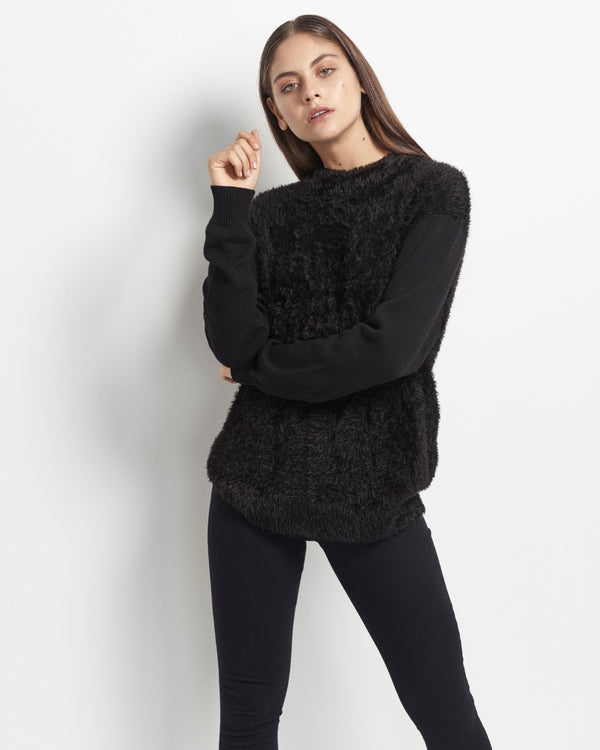Catalina Furry Knit