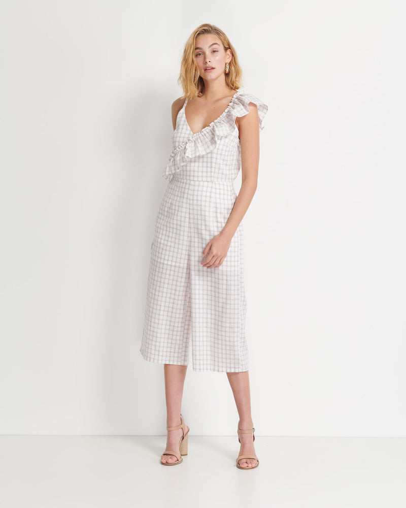 Cain Check Jumpsuit