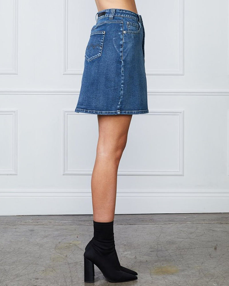 Sophia Button Up Skirt