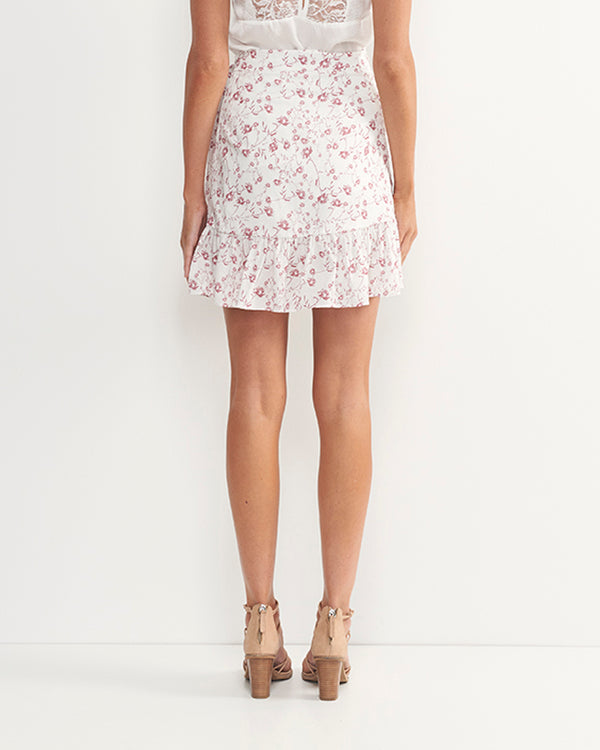 Cleo Cotton Floral Skirt