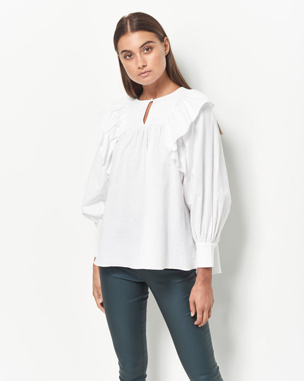 Marian Cotton Linen Shirt
