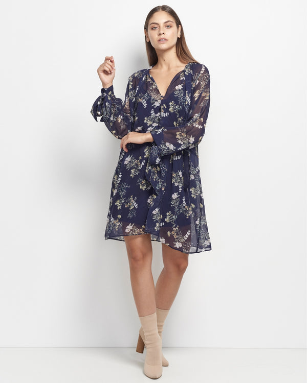 Laylah Exclusive Floral Print Dress