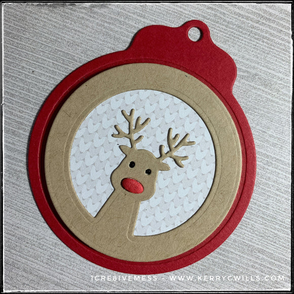 #the100dayproject : 64/100-2 : holiday tags