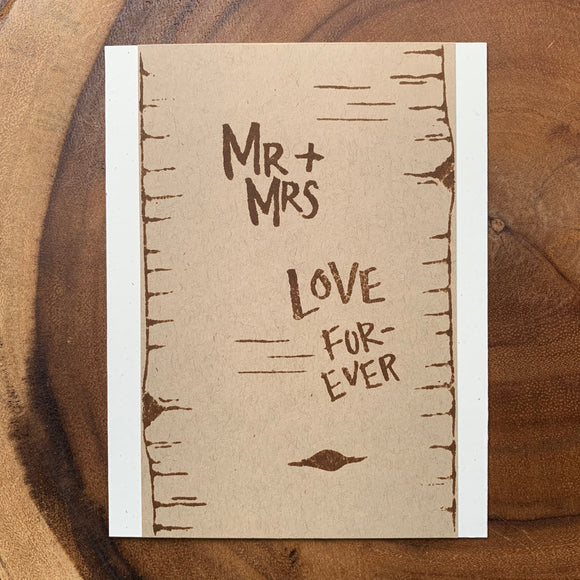 Mr. + Mrs. Love Forever