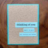 Thinking Of You [Email is Good]