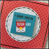 You're Soup-Er [Mini Pun]