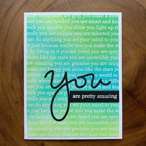 You Are Pretty Amazing