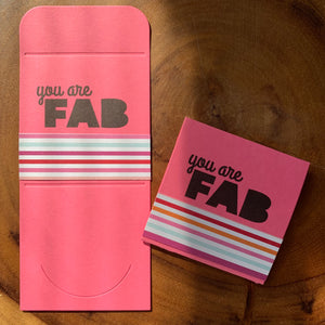 You Are Fab [lunchbox]