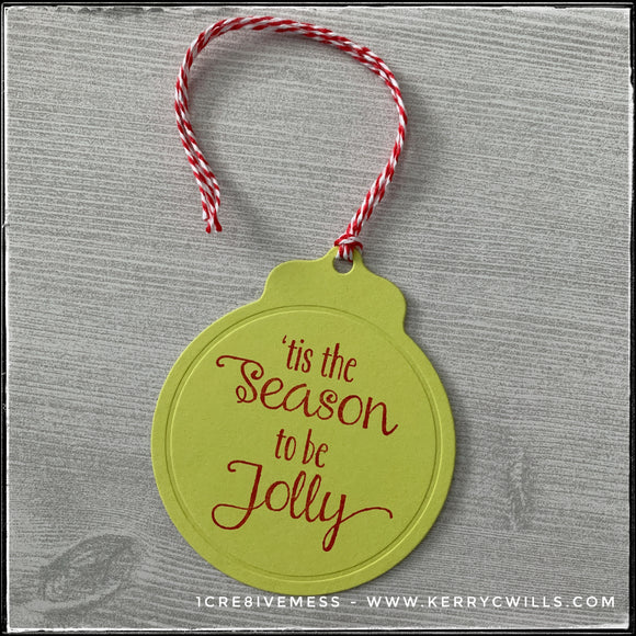Tag : 'tis the season to be jolly