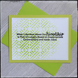 Set - Friendship [Stenciled]