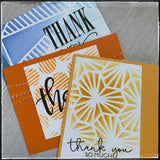 Set - Thank You [Stenciled]