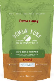 GROUND - EXTRA FANCY - Almost Dark roast - 8 oz.