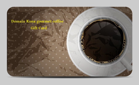 Domain Kona Gourmet Coffee Gift Cards  $100