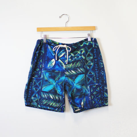 Cotton Swim Shorts
