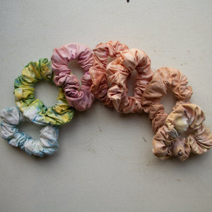 Natural Dyed scrunchies