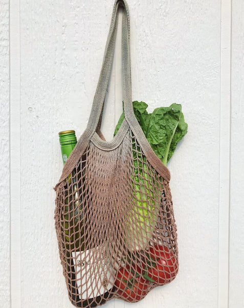 Natural Dyed Reusable Market Bag
