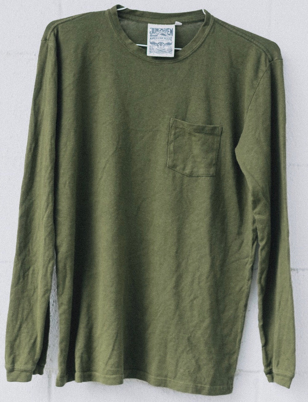 Baja Long Sleeve Pocket T - Jungmaven