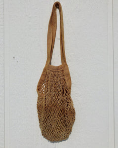 Natural Dyed Reusable Market Bag - Madder Root