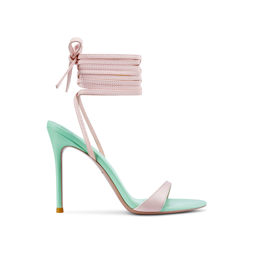 Claudia Pink and Mint