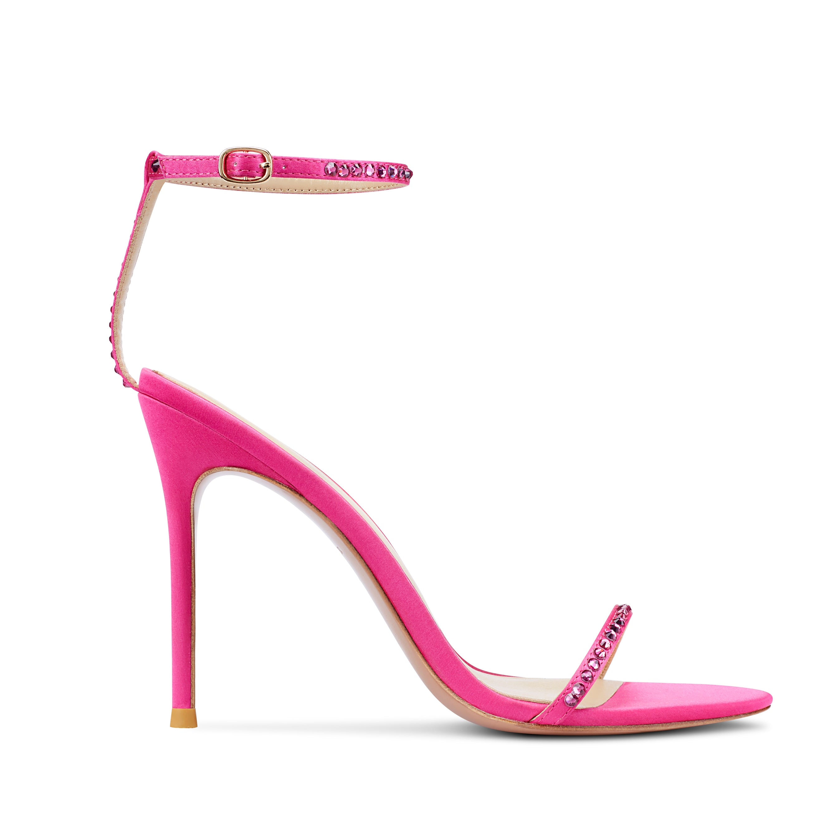 Melody Crystal Hot Pink (Three shoes in one)