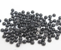 Black Onyx 5 MM Round Cabbochons
