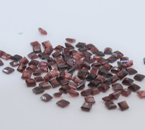 Garnet 7x9 MM Octagon Facteted