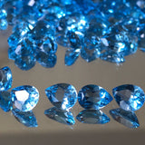 Swiss Blue Topaz 5X7 MM Pear Shape Faceted