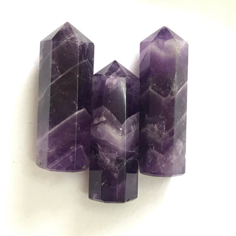 Amethyst Wands/ Pencil Healing Crystals