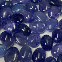 Tanzanite 10X14 MM Oval Cabochons