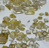 Golden Rutile 10X12 Mm Octagon Faceted