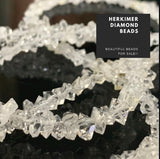 Herkimer Diamonds 16 Inch Beads