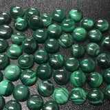 Malachite 8 MM Round Cabochons