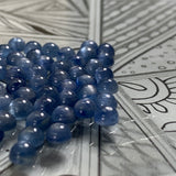 Kyanite 5 MM Round Cabochons