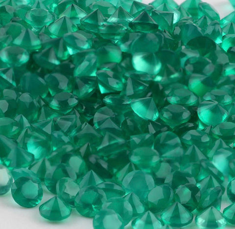 Green Onyx 2 MM Round Small Size| Lot from 100 pieces