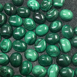 Malachite 8x10 MM Oval Cabochons