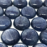 Kyanite 18 MM Round Cabochons